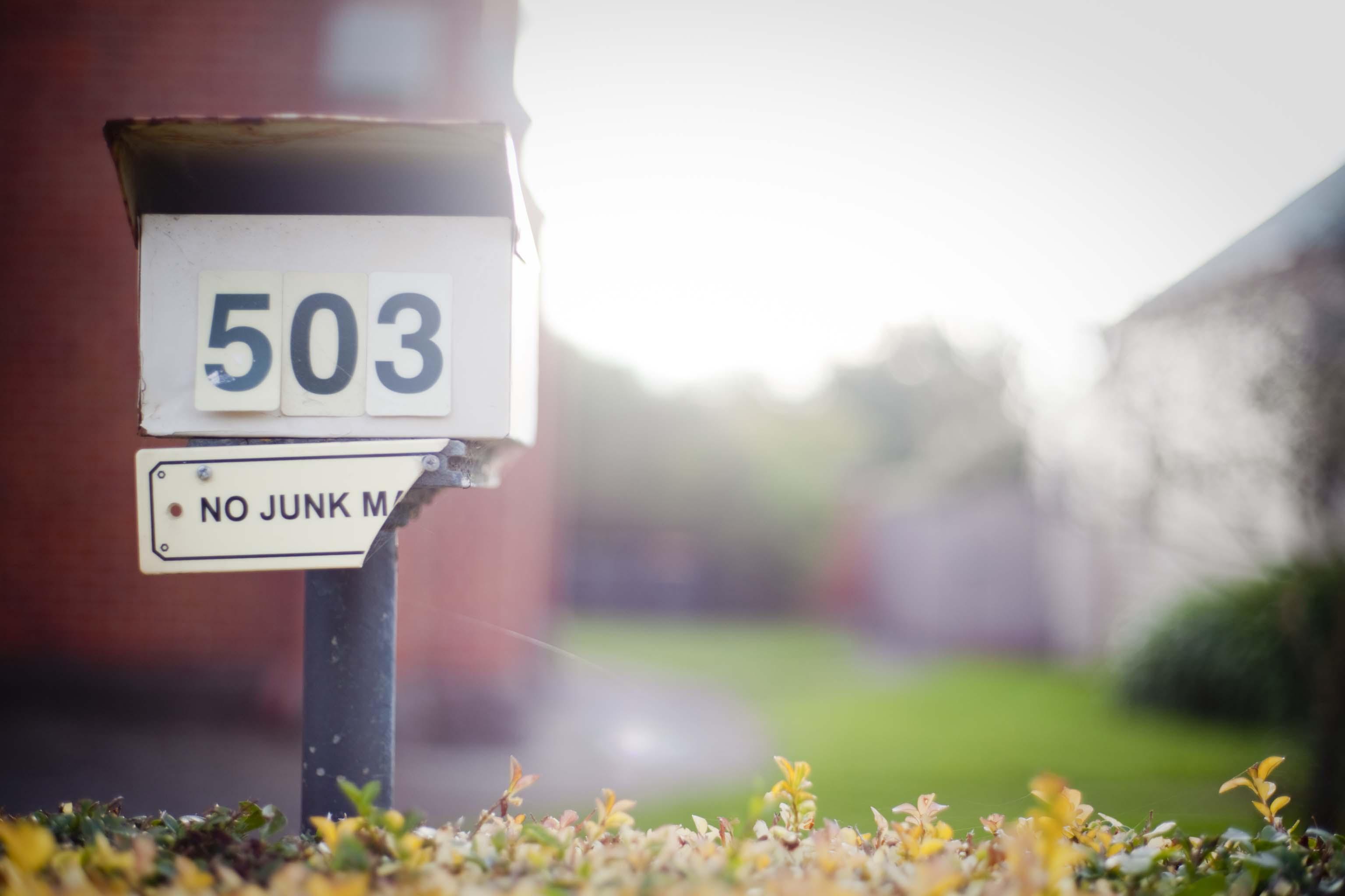 Mail Box on Lydiard Street. Soldiers Hill Ballarat Victoria Australia