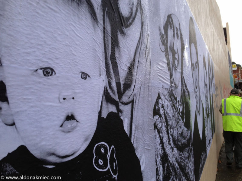 Public Art Ballarat Portrait Photography Aldona Kmiec faces project