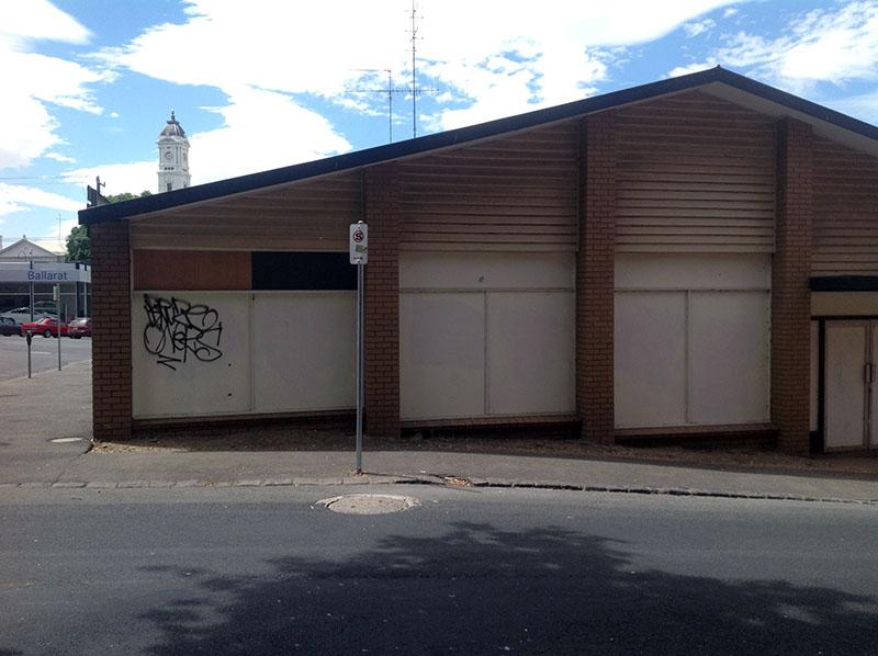 We R You STreet Art Paste up Project sites Ballarat