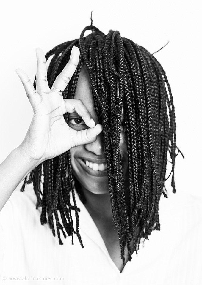 Molebatsi Motsepe South African Actress Studio Shots Portrait Photography Ballarat Melbourne