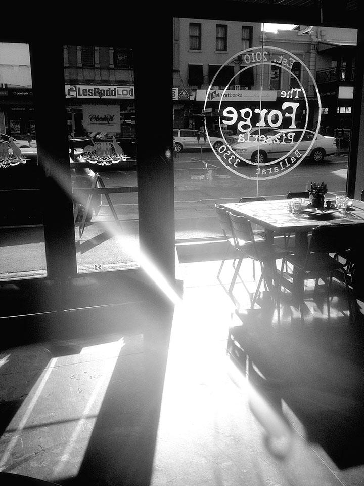 Aldona Kmiec Photography Ballarat Foto Biennale Fringe Exhibitions Forge Pizzeria