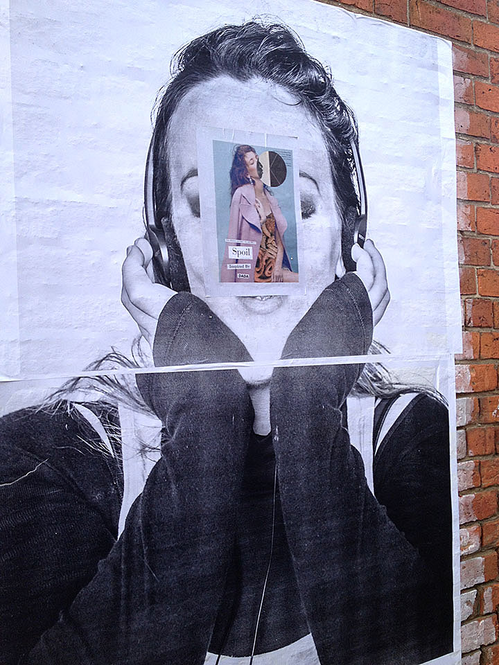 Spoil Inspired by DADA Ballarat Foto Biennale paste up street photo Exhibitions