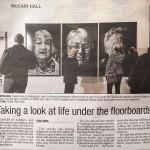 Under The Floorboards Art Exhibition