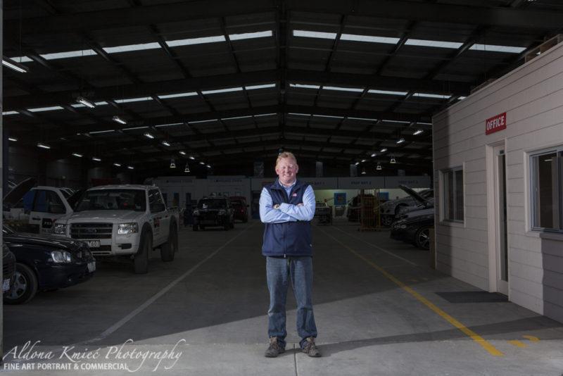 Inland Motor Body Works Ballarat ALdona Kmeic Commercial Photography Ballarat Melbourne