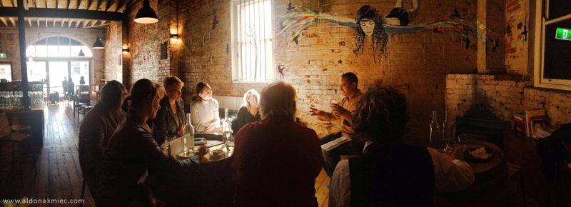 Art Sparks Event Adam Simmons PD Mitchell Harris WIne Bar