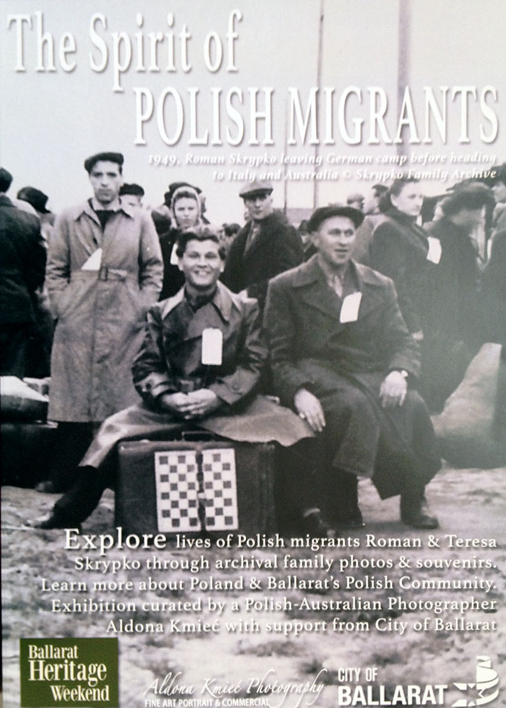Spirit of Polish Migrants Ballarat Polish photographer
