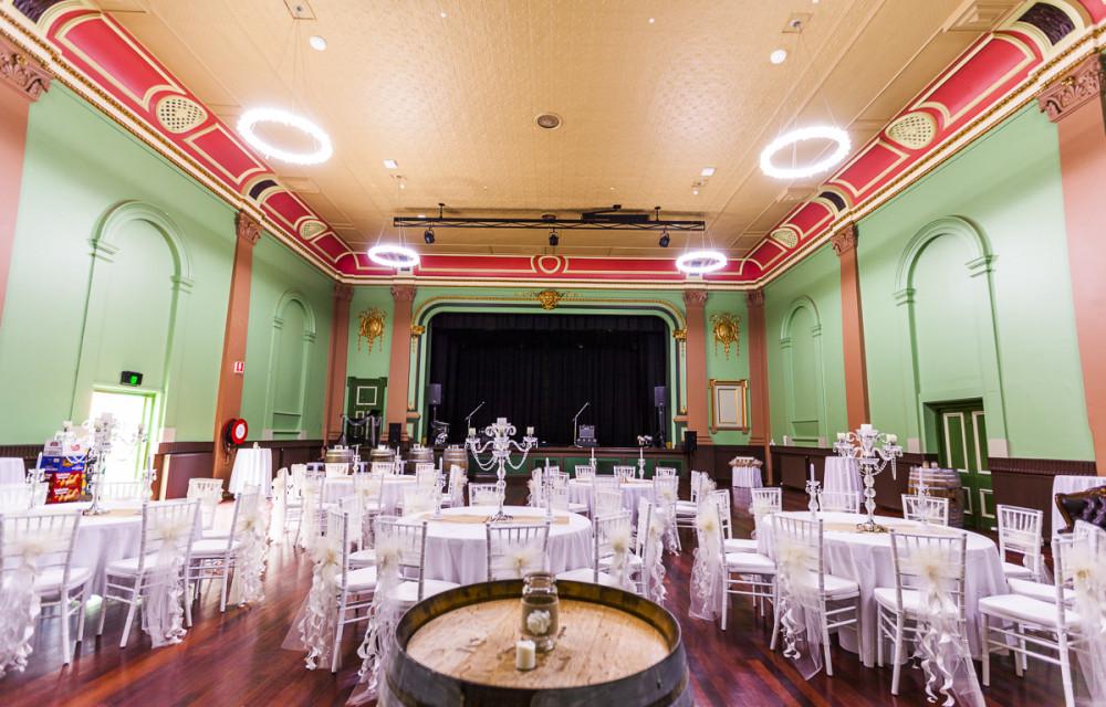 Glamour Ballarat Weddings Mechanics Institute Minerva Room