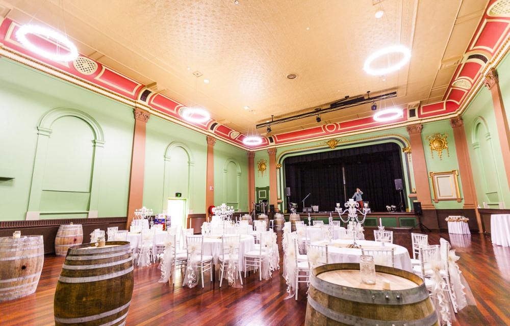Minerva Room Weddings Ballarat Sturt Street