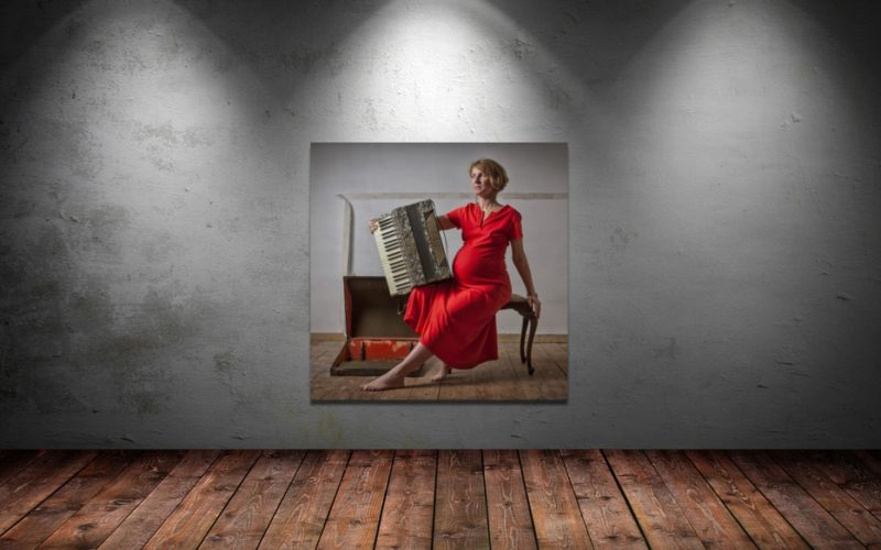 Balancing Act pregnant mother Giclee Print Melbourne Home Aldona Kmiec Photographic art