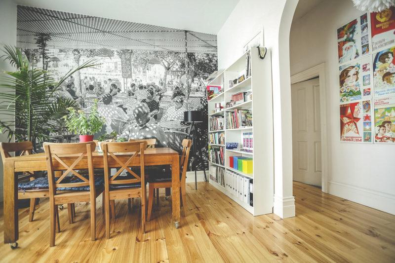 Cafe in Soler Photo Wall Mural Ballarat Victorian House Aldona Kmiec Artist