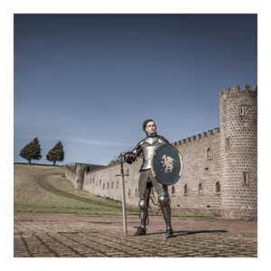 Poet Nathan Curnow Medieval Knight Kryal Castle Ballarat Collecting Fine Art Photography Medieval knight poet Nathan Curnow Kryal Castle Ballarat Aldona Kmiec Photography Limited Edition Digital C-Type matt print chromogenic