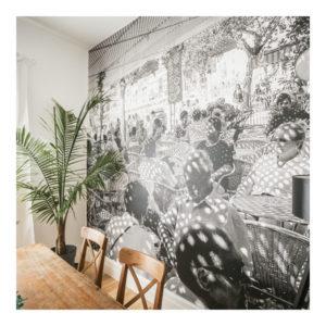 Cafe in Soler Photographic Murals Ballarat Aldona Kmiec Photography