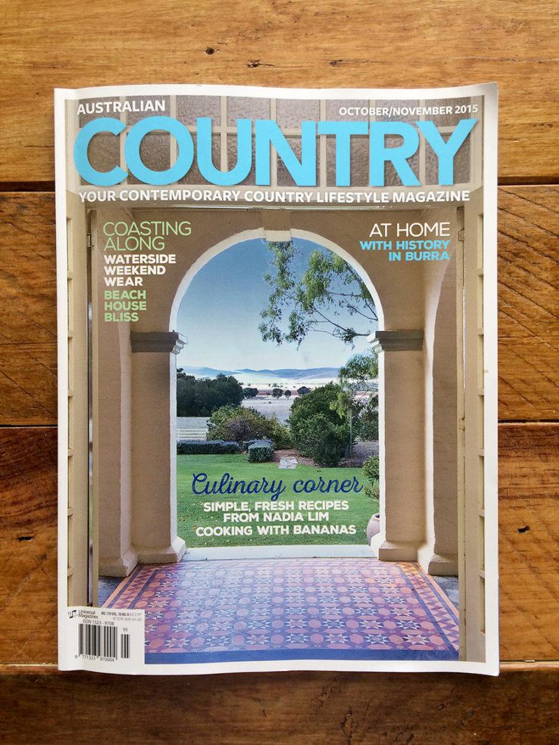 Polish Australian Ballarat Melbourne Artist Photographer Aldona Kmiec Australian Country Magazine