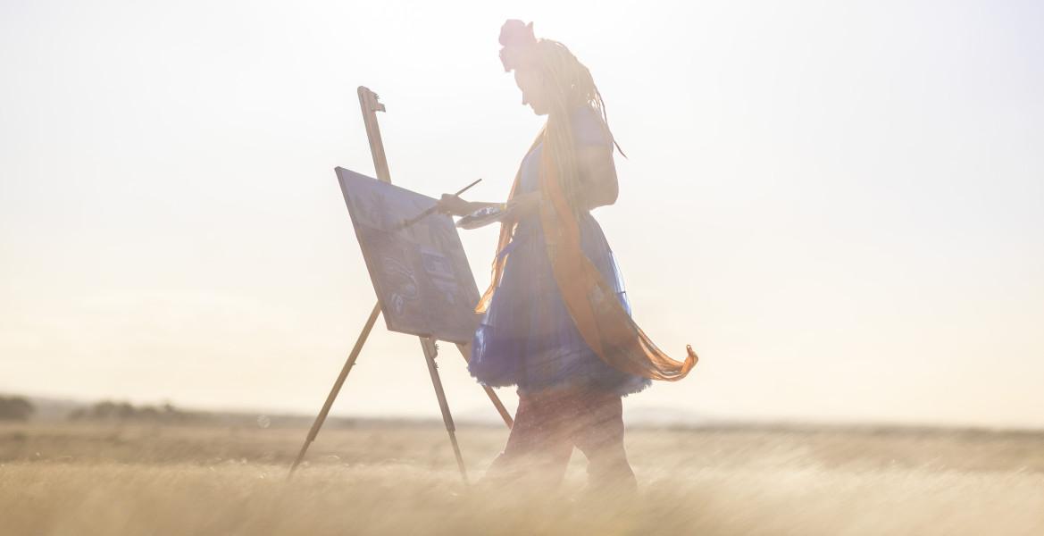 Jessica Andersen, painter