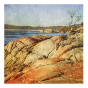 Bay of Fires Tasmania Australian landscape art prints ALDONA KMIEC