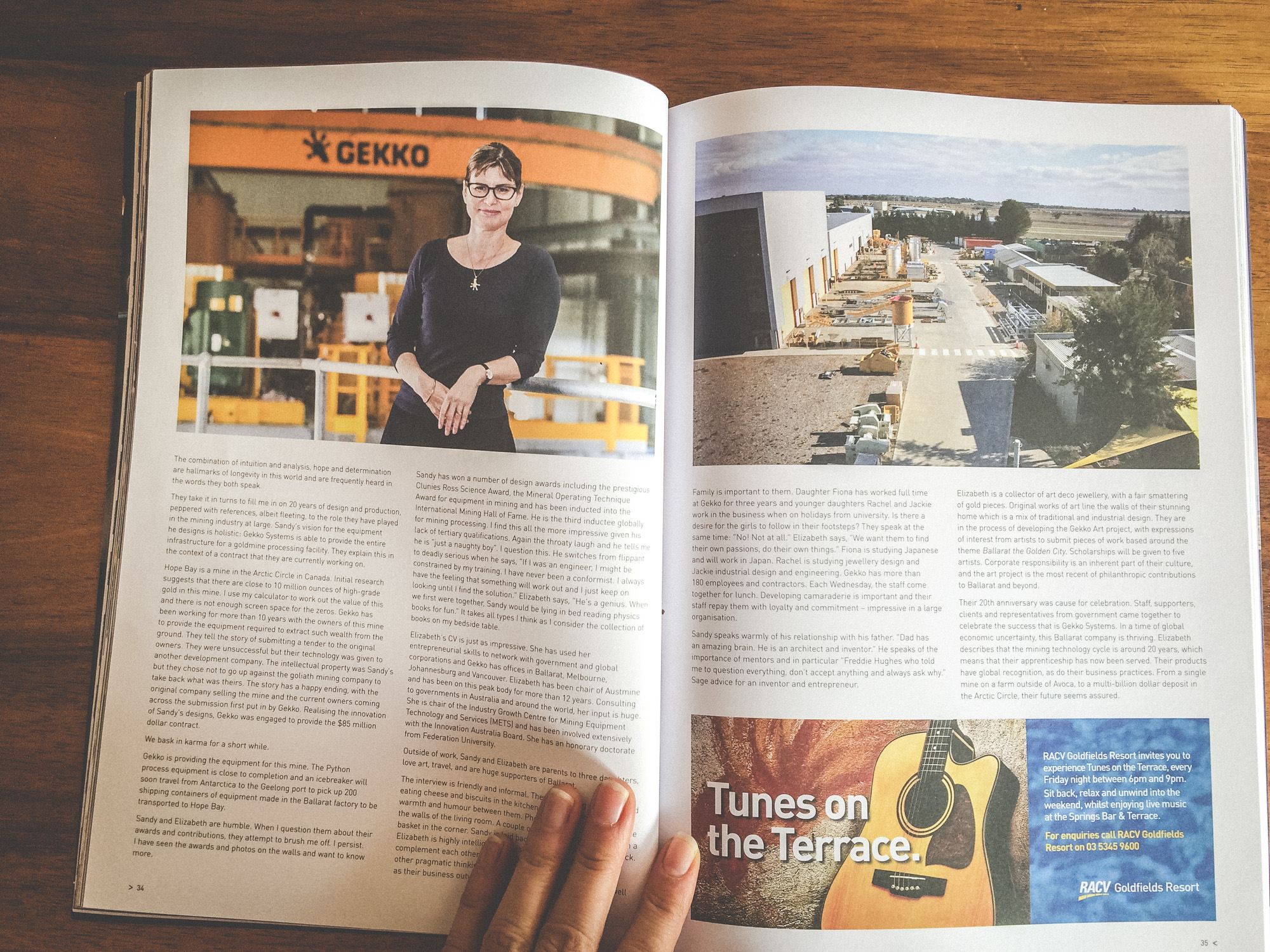 Ballarat Lifestyle Magazine Elizabeth Lewis-Gray CEO GEKKO SYSTEMS Aldona Kmiec Photography editorial portrait