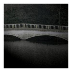 Hampstead Heath London bridge wall art print Aldona Kmiec