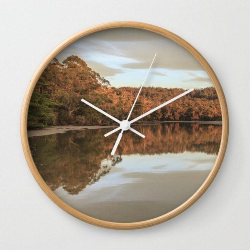 Tasmania Wall Clock Interior Design_Aldona Kmiec Artist Ballarat