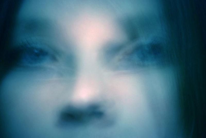 Aldona Kmiec Ballarat Foto Biennale Feeling Blue Self-portrait London