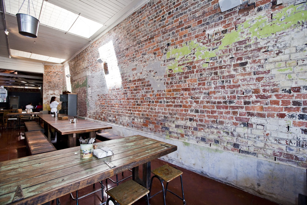 Rustic Warehouse Conversion Commercial Interior Photography The Forge Pizzeria Armstrong Street Interior