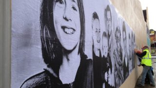 We R You paste up street art project portraits Ballarat