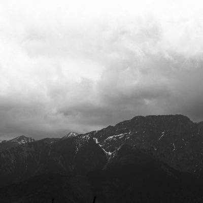 Tatry mountains print Giewont rycerz Tatry Mountains